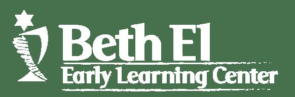Beth El Early Learning Center White Logo