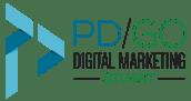 PD/GO Digital Marketing Blue and Green Logo