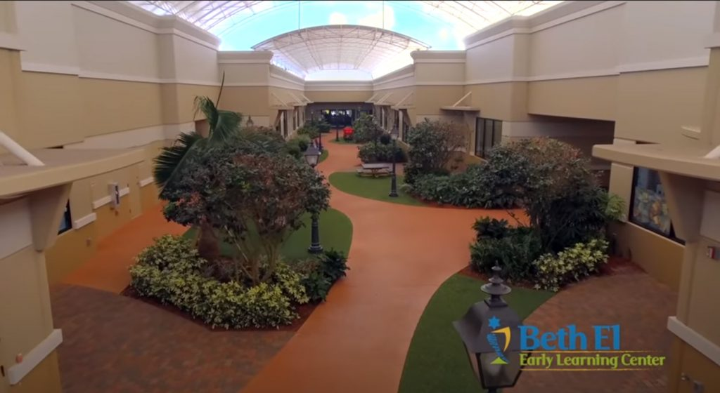 Beth El Early Learning Center Courtyard | Beck Family Campus of Temple Beth El of Boca Raton, FL
