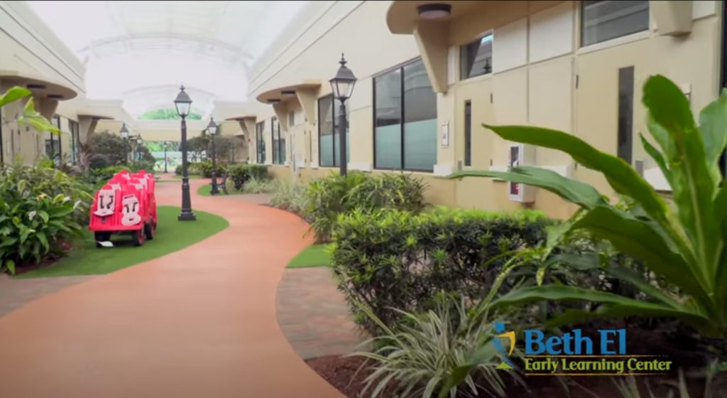 Beck Family Campus Gardens within Beth El Early Learning Center in Boca Raton, FL